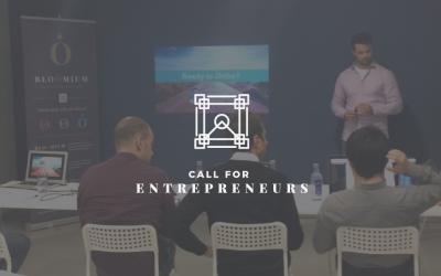 Call For Entrepreneurs. Nuevas startups presentan sus proyectos